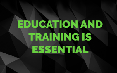 Education and Training is Essential